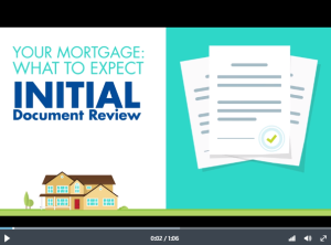 The Mortgage Process: Your Initial Review
